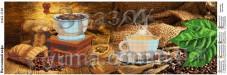 Схема вышивки бисером на атласе Панно Настоящий кофе Юма ЮМА-П-63