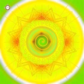Схема вышивки бисером на атласе Волшебная мандала богатства Миледи СЛ-3377 - 94.00грн.