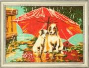 Набор для вышивки бисером Зонтик на двоих