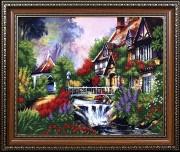 Набор для вышивки бисером Сказочный пейзаж 3