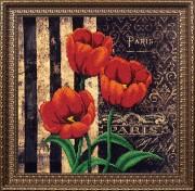 Набор для вышивки бисером Французские цветы Тюльпаны