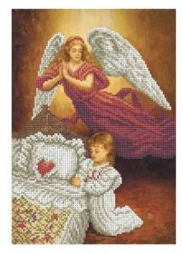 Схема для вышивки бисером на габардине Вечерняя Молитва Акорнс А4-К-867 - 45.00грн.