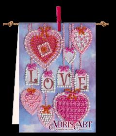 Набор-флажок для вышивки бисером на холсте Подвески