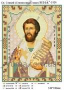 Схема вышивки бисером на атласе Св. Стахий (Станислав)