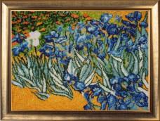 Набор для вышивки бисером Полевые ирисы по мотивам картины Ван Гога Баттерфляй (Butterfly) 265