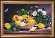 Набор для вышивки Лимоны и айва