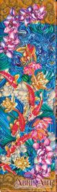 Набор для вышивки бисером Карпы Кои, , 627.00грн., АВ-616, Абрис Арт, Животные