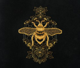 Набор для вышивки крестом Золотая пчела
