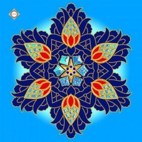 Схема-заготовка для вышивки бисером декоративной подушки Royal Sapphire Damask Миледи ПС-018 - 206.00грн.