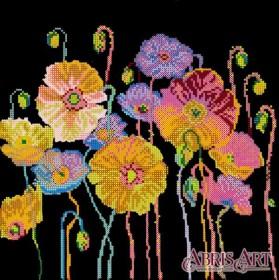 Схема для вышивки бисером Яркие краски, , 107.00грн., AC-340, Абрис Арт, Цветы