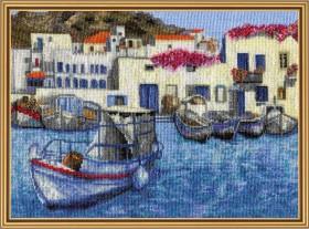 Набор для вышивки нитками Утро в гавани Новая Слобода (Нова слобода) РЕ4344 - 205.00грн.