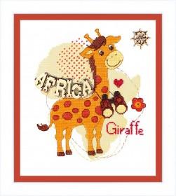Набор для вышивания крестом Детский мир. Африка Cristal Art ВТ-172 - 204.00грн.