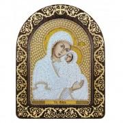 Набор для вышивки икон в рамке-киоте Св. Анна с младенцем Марией