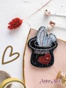 Набор для вышивки бисером украшения Фокус