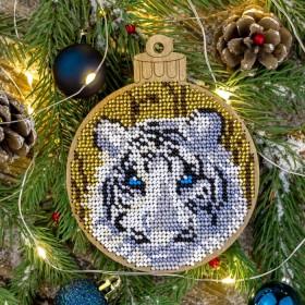 Набор для вышивки бисером по дереву Тигр Волшебная страна FLK-402 - 193.00грн.
