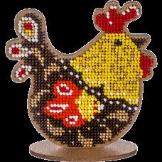 Набор для вышивки по дереву Пасхальная курочка Волшебная страна FLK-334