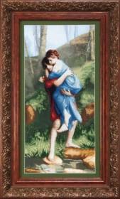 Набор для вышивки крестом По мотивам Э. Леви Головокружение от любви Cristal Art ВТ-507 - 333.00грн.