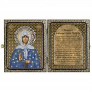 Набор для вышивки иконы в рамке-складне Св. Прав. Старица Матрона Московская