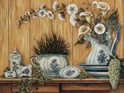 Набор для выкладки алмазной мозаикой Натюрморт вазы и горшки