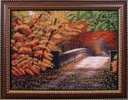 Набор для вышивки бисером Осенний мостик