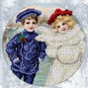 Набор для вышивки ювелирным бисером Рождественская история 10