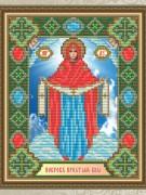 Набор для выкладки алмазной мозаикой Богородица Покрова