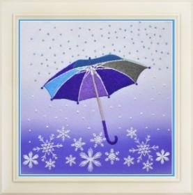 Набор для вышивки нитками (стиль Rococo) Времена года. Зима