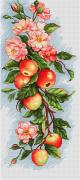 Набор для вышивки крестом Композиция с яблоками