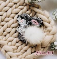 Набор для вышивки украшения Зайчик  Абрис Арт AD-026