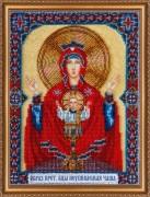 Набор для вышивки бисером Богородица Неупиваемая чаша