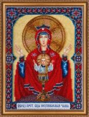 Набор для вышивки бисером Богородица Неупиваемая чаша Абрис Арт АВ-310
