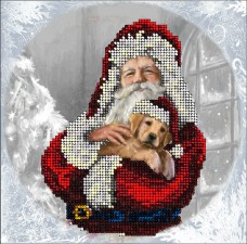 Набор для вышивания бисером Рождественские истории 23 Краса и творчiсть 30917