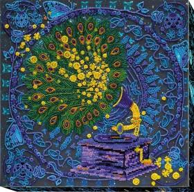 Набор для вышивки бисером Волшебный граммофон  Абрис Арт АВ-523 - 503.00грн.