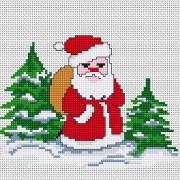 Набор для вышивки крестом Дед Мороз