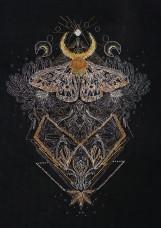 Набор для вышивки крестом Ночной мотылек Абрис Арт АН-122