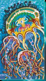 Набор для вышивания бисером Подводный танец