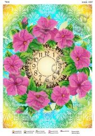 Схема вышивки бисером на атласе Часы Юма ЮМА-3307 - 62.00грн.