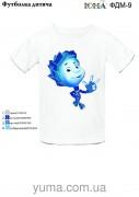Детская футболка для вышивки бисером Нолик