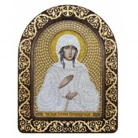 Набор для вышивки иконы в рамке-киоте Св. Блж. Ксения Петербургская