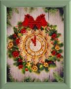 Схема для вышивки бисером Часики