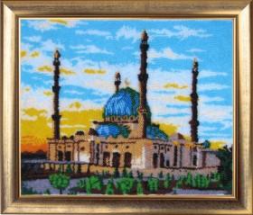 Набор для вышивки бисером Мечеть, , 554.00грн., 366Б, Баттерфляй (Butterfly), Наборы и схемы для вышивки бисером и нитками Восток
