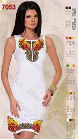 Заготовка женского льняного платья для вышивки бисером Biser-Art Bis7053 - 400.00грн.