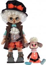Набор для шитья куклы и мягкой игрушки Мальчик с овечкой Zoosapiens К1076Z