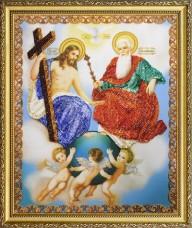 Набор для вышивки бисером Новозаветная Троица Картины бисером Р-342