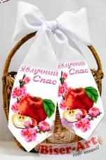 Бант для вышивки бисером Яблочный Спас Biser-Art В24060