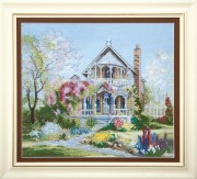 Набор для вышивки крестом Цветущий сад