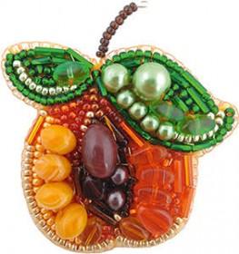 Набор для изготовления броши Абрикос Cristal Art БП-233 - 95.00грн.