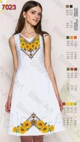 Заготовка женского льняного платья для вышивки бисером Biser-Art Bis7023 - 400.00грн.