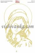 Схема для вышивки бисером на атласе Мадонна і немовля
