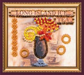 Набор-магнит для вышивки бисером Лонг Айленд, , 39.00грн., АМА-184, Абрис Арт, Открытки, магниты